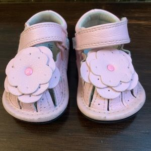 Other - Pink flower sandals jack and lily